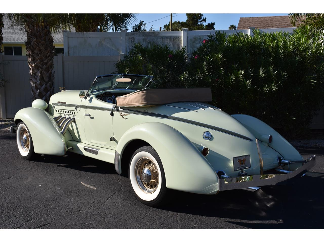 Large Picture of Classic 1935 Auburn Boattail located in Florida - MC9J