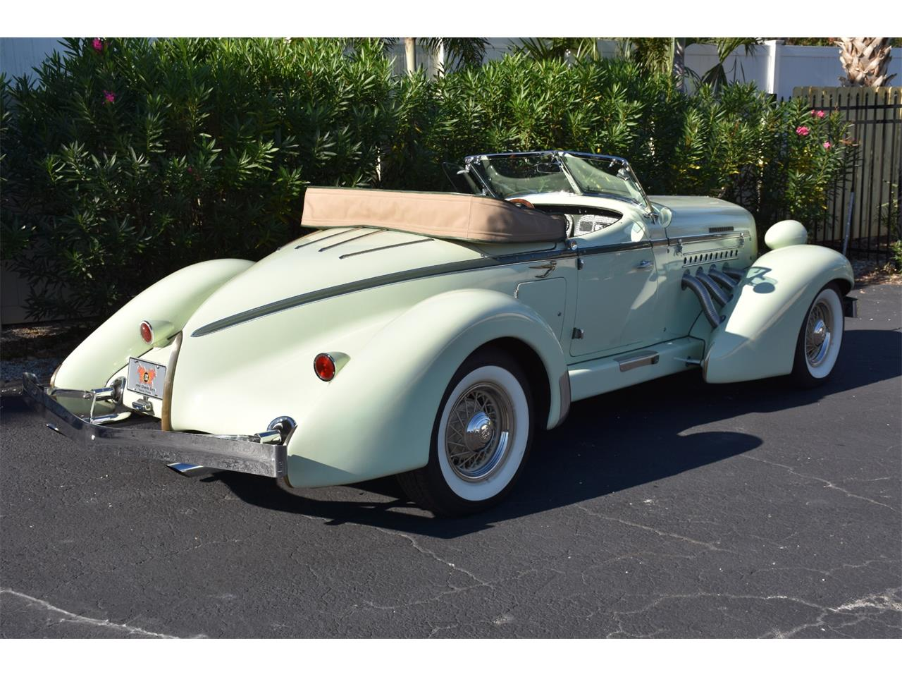 Large Picture of Classic '35 Auburn Boattail located in Venice Florida Offered by Ideal Classic Cars - MC9J