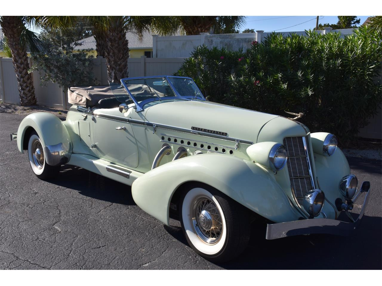 Large Picture of 1935 Auburn Boattail Auction Vehicle Offered by Ideal Classic Cars - MC9J