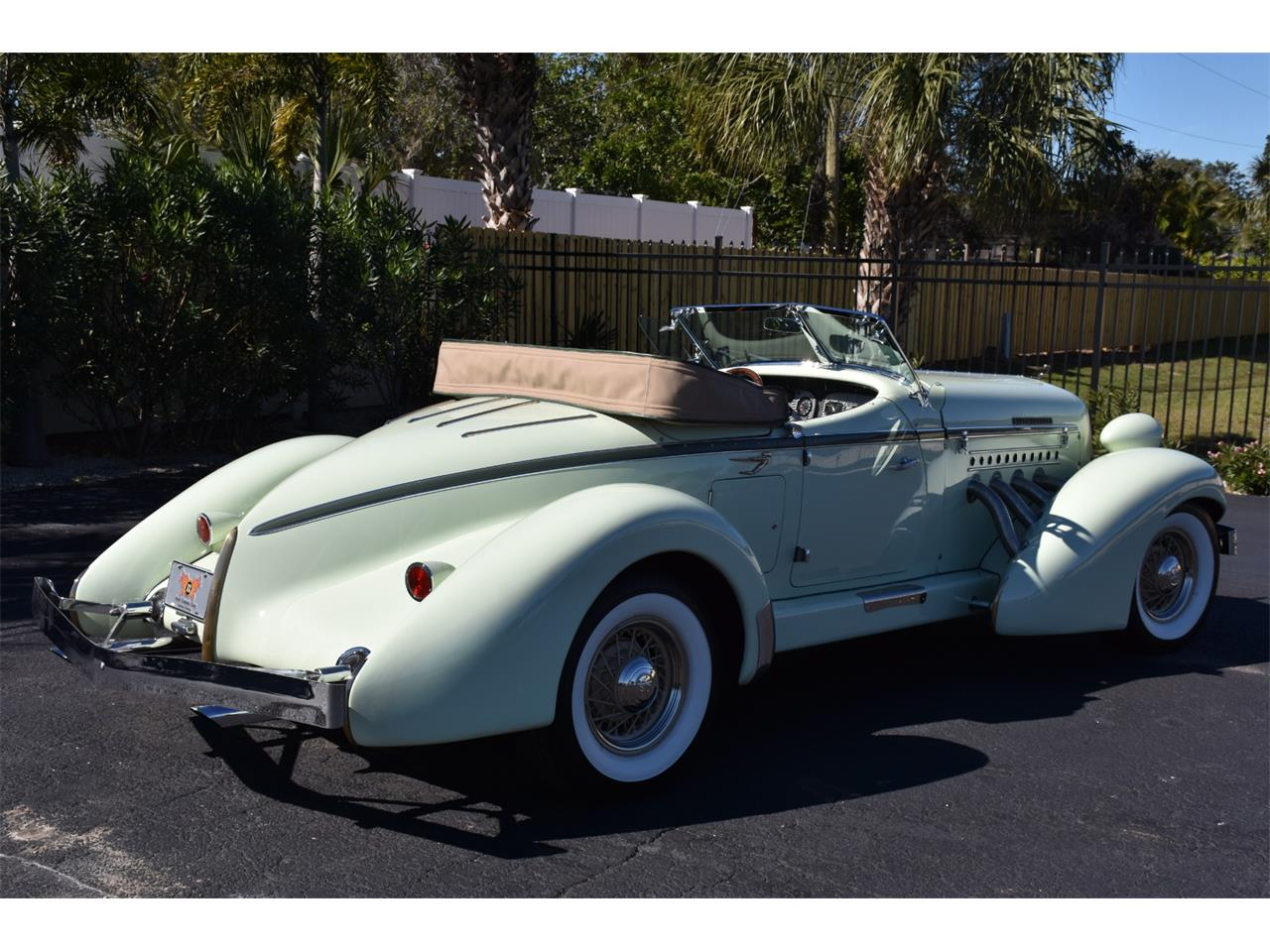 Large Picture of Classic '35 Auburn Boattail Auction Vehicle - MC9J
