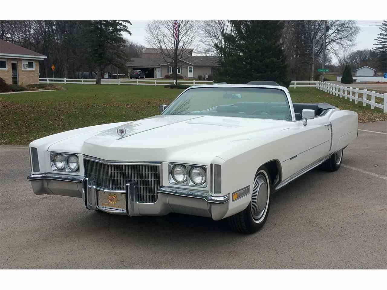 1971 Cadillac Eldorado for Sale | ClicCars.com | CC-1042365