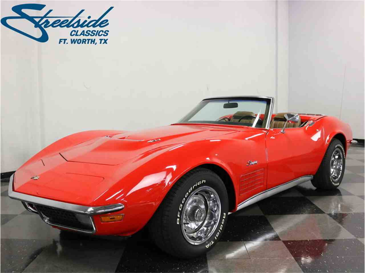 Large Picture of Classic 1971 Corvette located in Texas Offered by Streetside Classics - Dallas / Fort Worth - MCB2