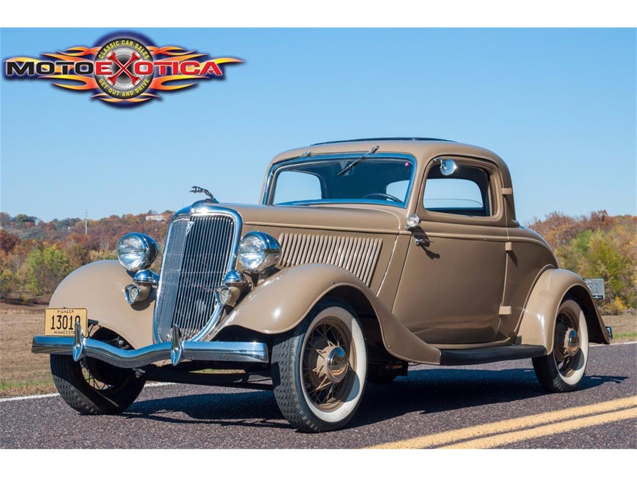 Large Picture of '34 3-Window Coupe - MCEX