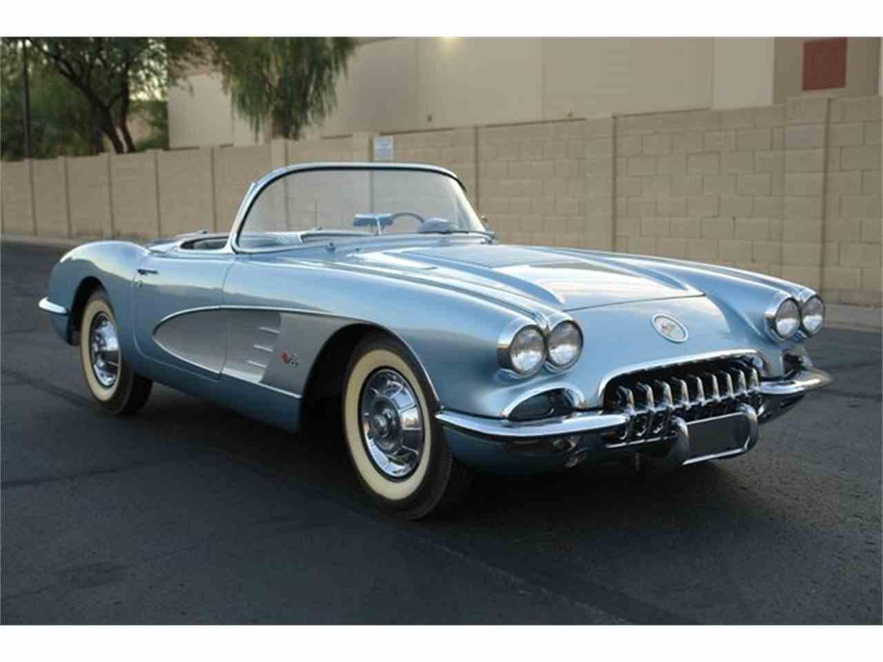 1958 chevrolet corvette for sale cc 1042693. Black Bedroom Furniture Sets. Home Design Ideas
