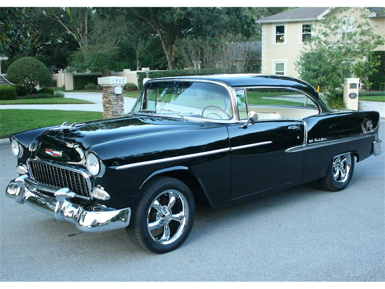 Large Picture of '55 Chevrolet Bel Air located in Lakeland Florida - $59,500.00 Offered by MJC Classic Cars - MCLQ