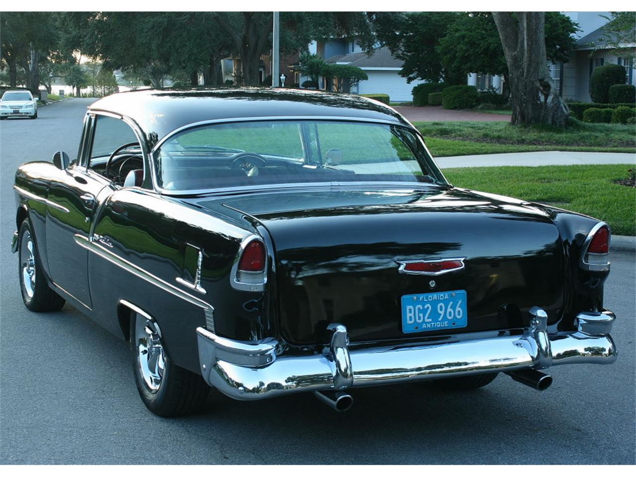 Large Picture of '55 Chevrolet Bel Air located in Lakeland Florida Offered by MJC Classic Cars - MCLQ