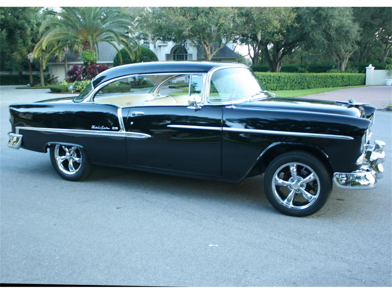 Large Picture of 1955 Bel Air located in Lakeland Florida Offered by MJC Classic Cars - MCLQ