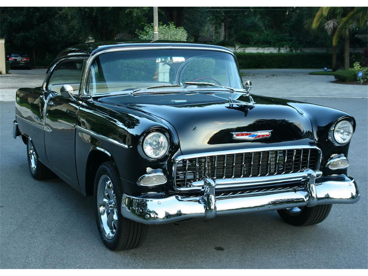 Large Picture of Classic '55 Chevrolet Bel Air located in Lakeland Florida Offered by MJC Classic Cars - MCLQ