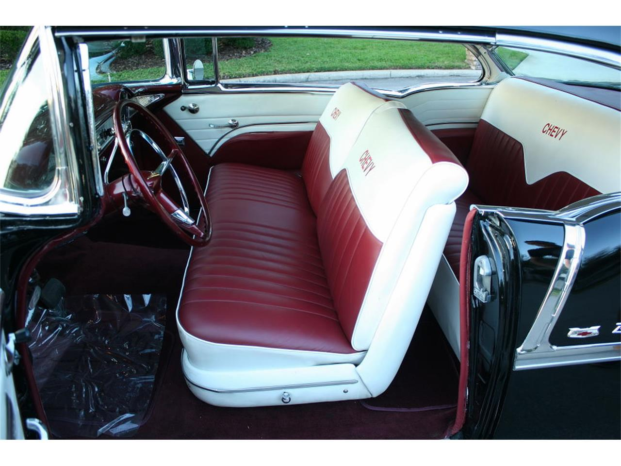 Large Picture of 1955 Chevrolet Bel Air located in Lakeland Florida - $59,500.00 Offered by MJC Classic Cars - MCLQ