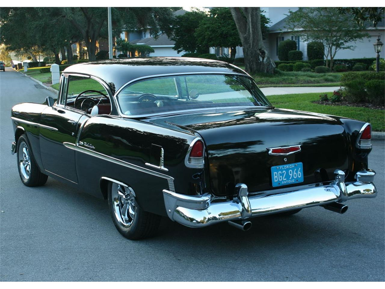 Large Picture of Classic '55 Chevrolet Bel Air located in Lakeland Florida - $59,500.00 Offered by MJC Classic Cars - MCLQ