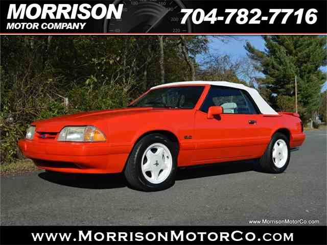 Picture of '92 Mustang - MCOT
