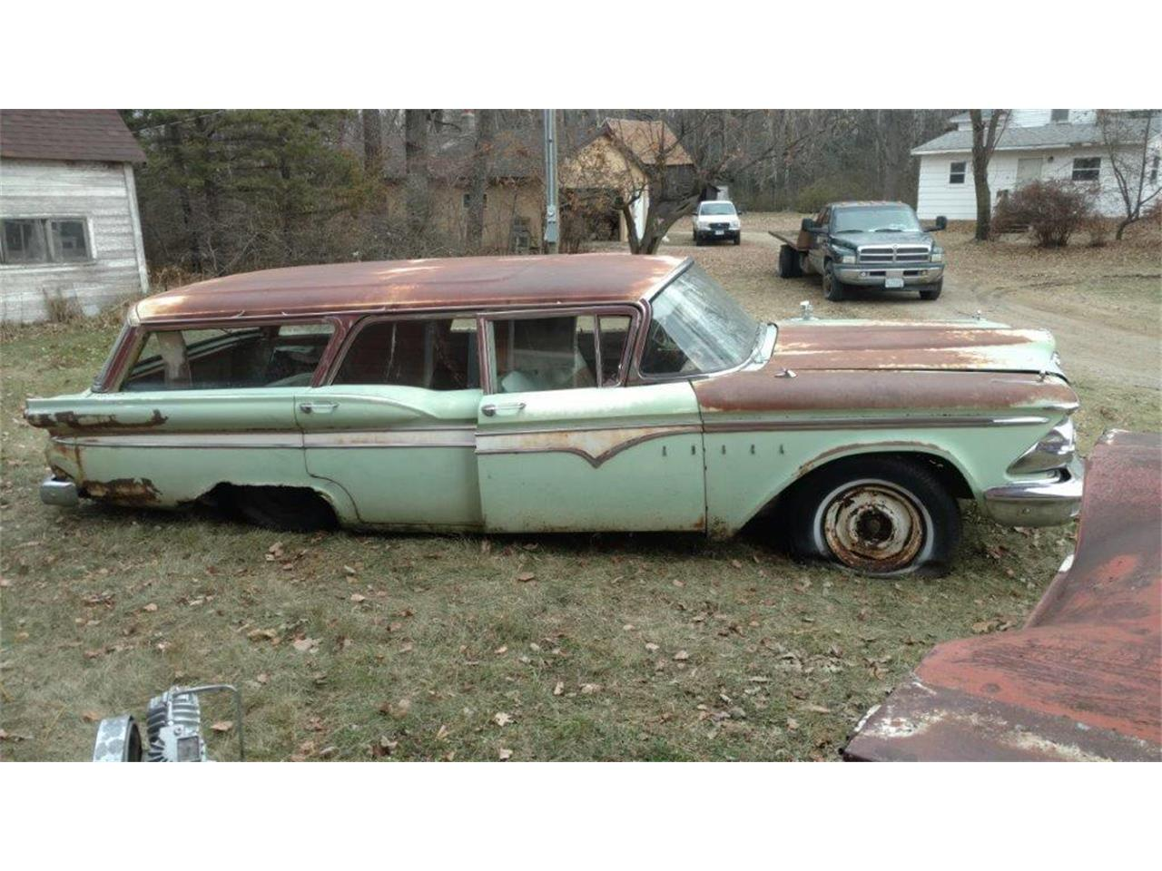 Large Picture of Classic '59 Edsel Villager located in Minnesota - $1,800.00 Offered by Dan's Old Cars - MCSU