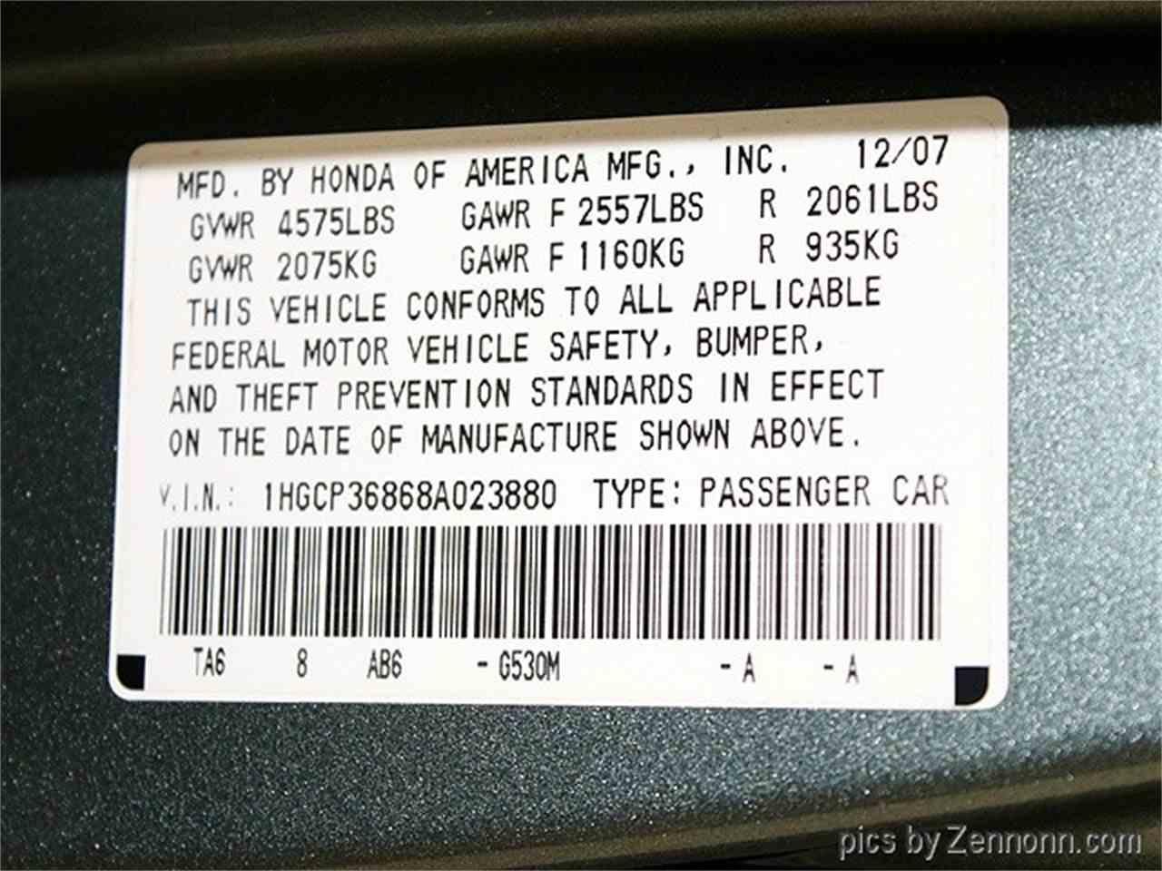 Large Picture of '08 Accord located in Addison Illinois - $6,990.00 - MCTJ