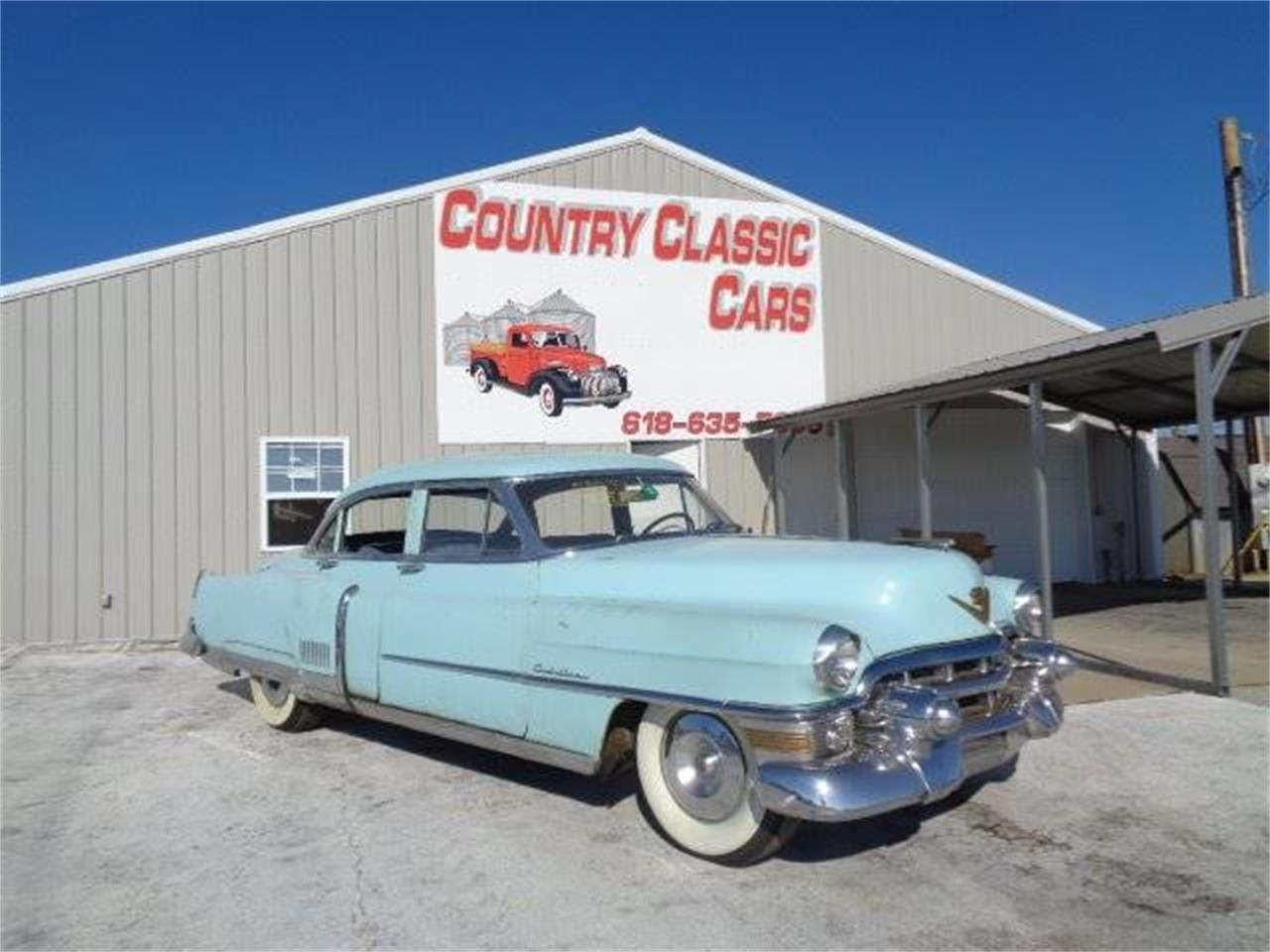 Large Picture of '53 Cadillac Fleetwood located in Illinois Offered by Country Classic Cars - MCTR