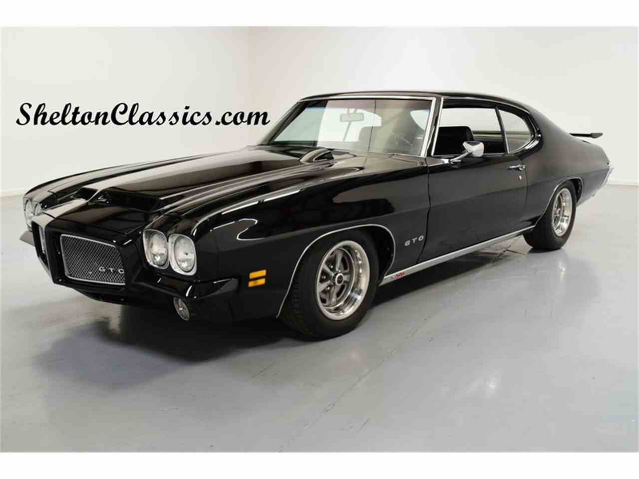 Large Picture of Classic 1971 Pontiac GTO - $39,995.00 Offered by Shelton Classics & Performance - MCWM