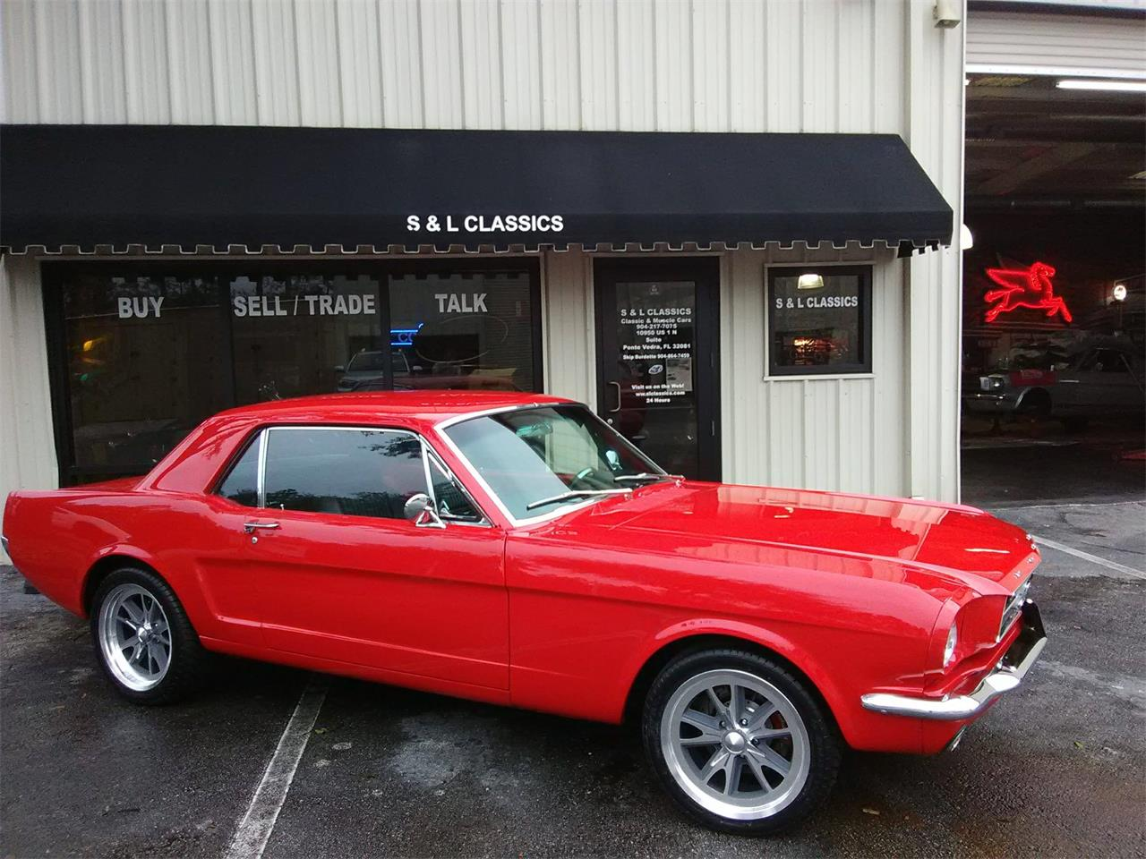 Large Picture of '65 Mustang located in Saint augustine Florida Offered by S & L Classics - MCX4