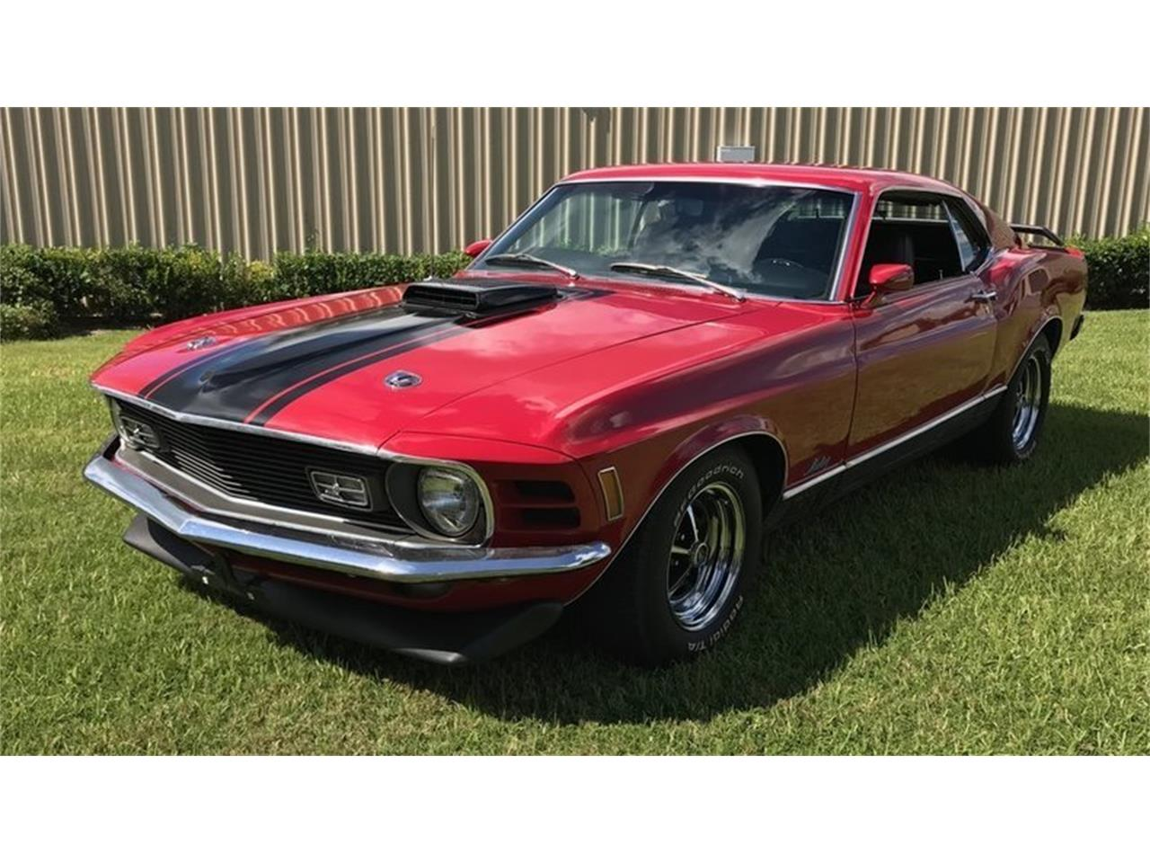 Large Picture of '70 Mustang Mach 1 - MCXE