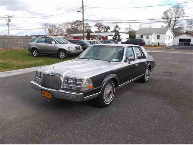 Picture of '87 Continental - MCZ9