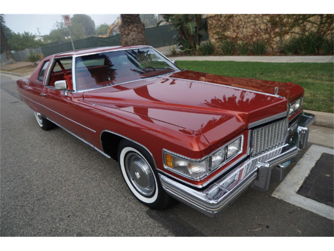 Large Picture of '75 Cadillac Coupe DeVille located in California - MD15