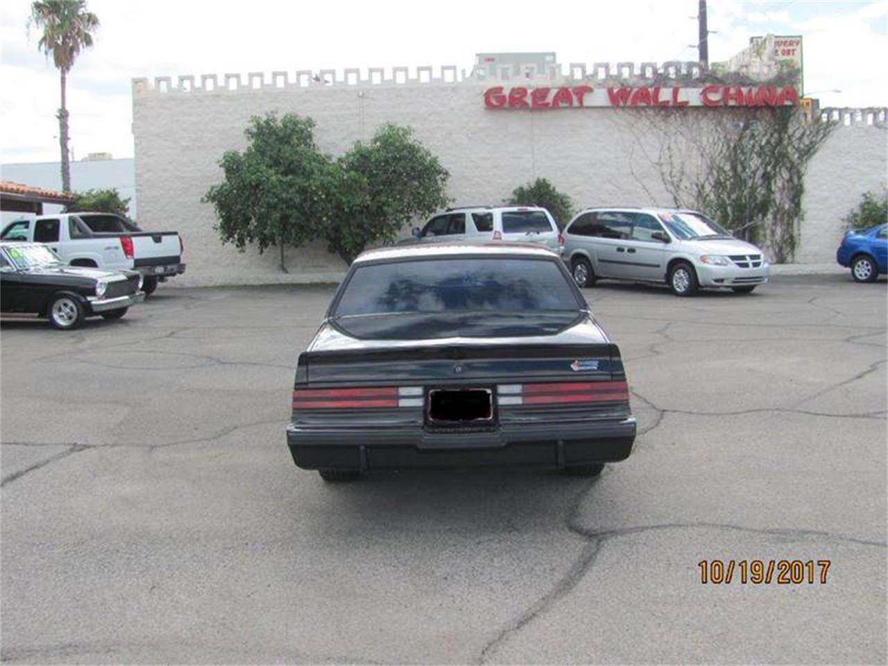 Large Picture of '87 Grand National located in Tucson Arizona Offered by Suburban Motors - MD29