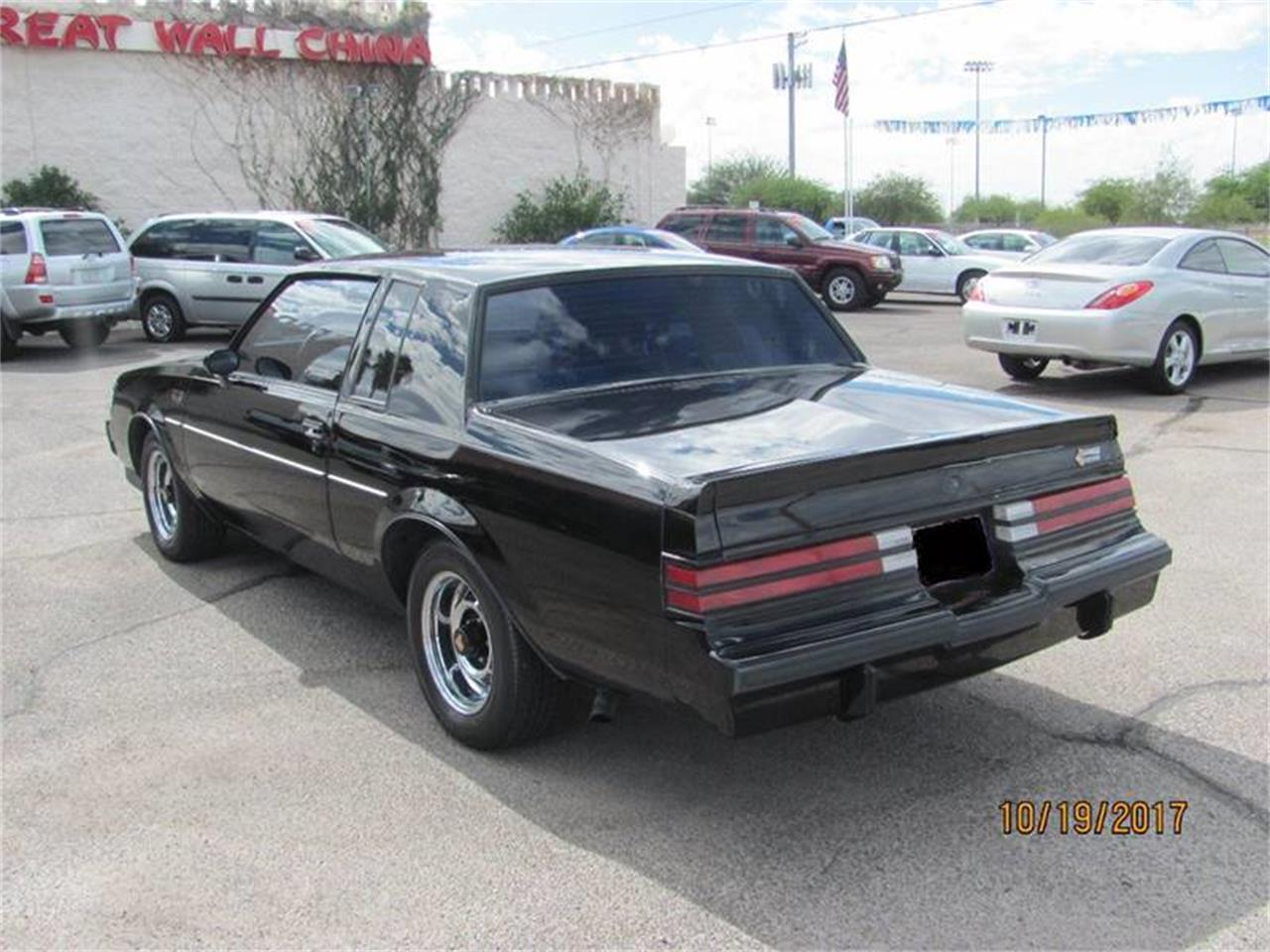 Large Picture of '87 Grand National located in Tucson Arizona - $34,995.00 Offered by Suburban Motors - MD29