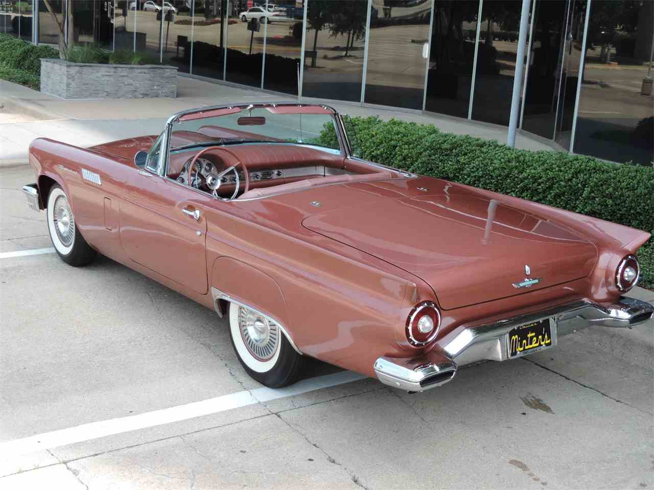 Large Picture of 1957 Ford Thunderbird located in Dallas Texas Offered by Amos Minter's Thunderbirds - MD3L