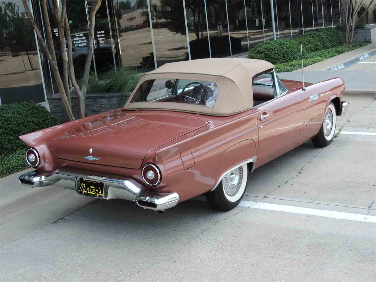 Large Picture of Classic '57 Ford Thunderbird located in Dallas Texas Offered by Amos Minter's Thunderbirds - MD3L