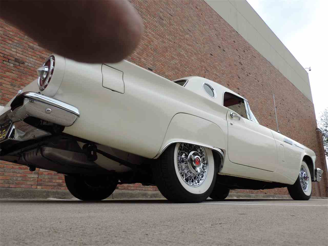 Large Picture of 1957 Ford Thunderbird located in Dallas Texas Offered by Amos Minter's Thunderbirds - MD3N