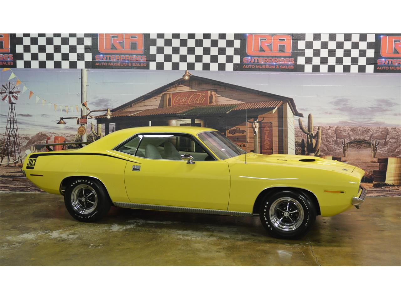 Large Picture of Classic 1970 Plymouth Cuda located in Bristol Pennsylvania - $59,900.00 Offered by L.R.A. Enterprises Auto Museum & Sales - MD67