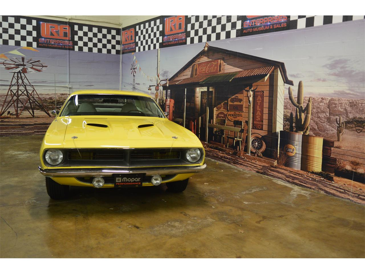 Large Picture of 1970 Plymouth Cuda located in Bristol Pennsylvania Offered by L.R.A. Enterprises Auto Museum & Sales - MD67
