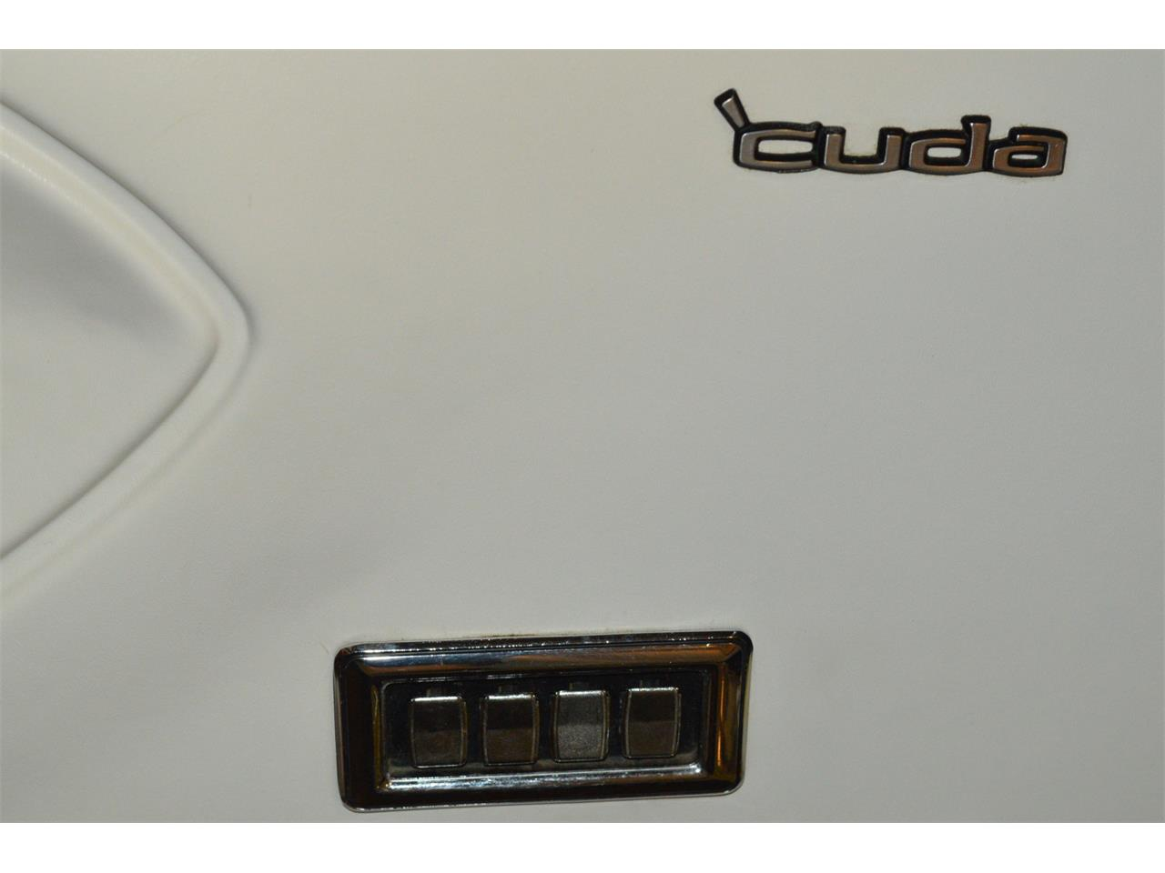 Large Picture of Classic 1970 Plymouth Cuda - $59,900.00 Offered by L.R.A. Enterprises Auto Museum & Sales - MD67