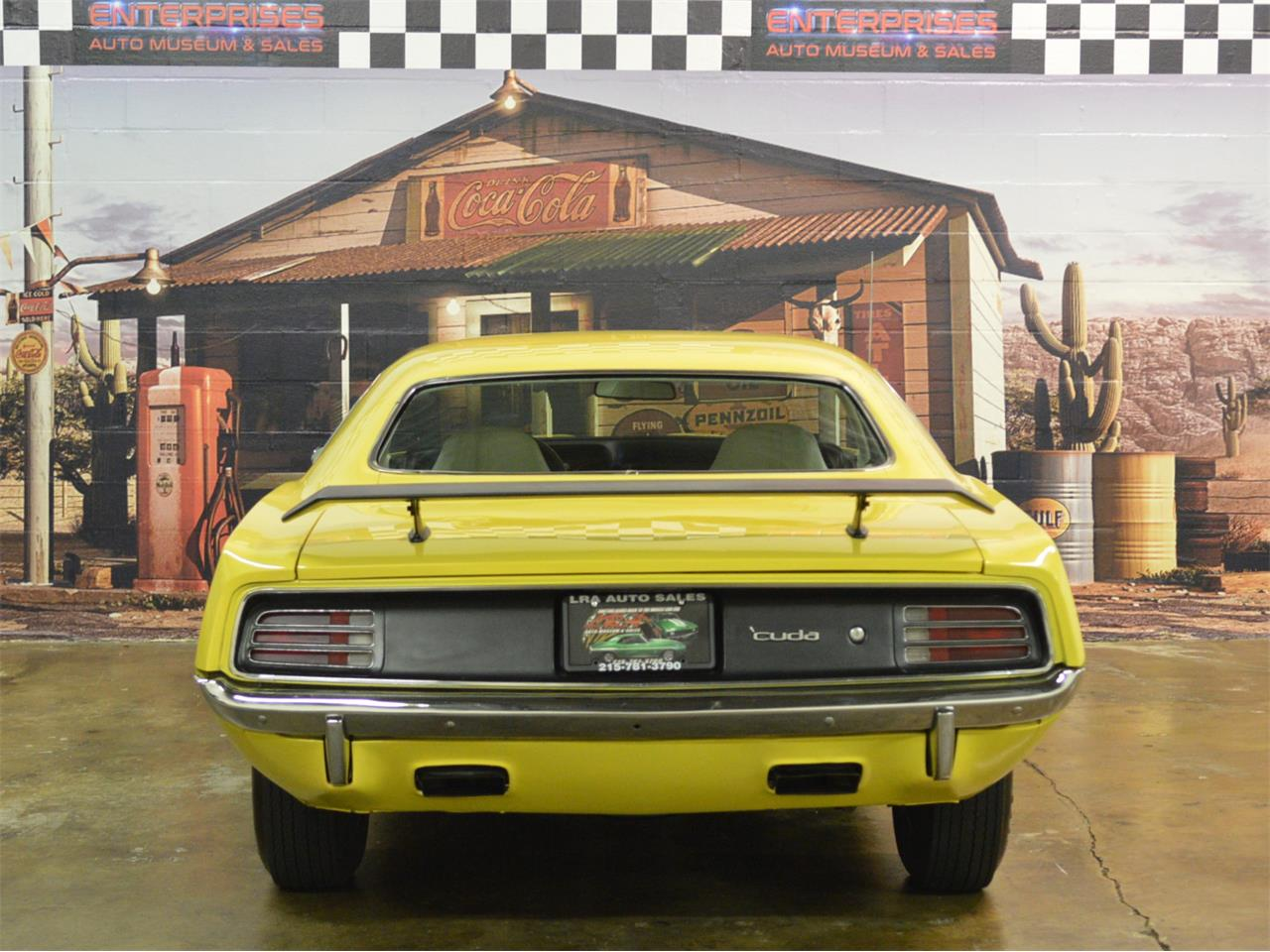 Large Picture of 1970 Plymouth Cuda located in Bristol Pennsylvania - $59,900.00 Offered by L.R.A. Enterprises Auto Museum & Sales - MD67