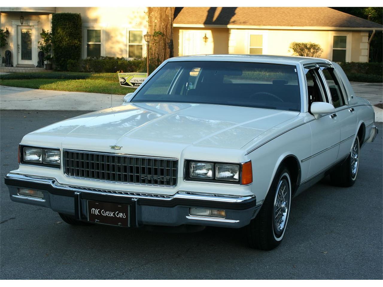 1986 Chevy Caprice Chrome Trim