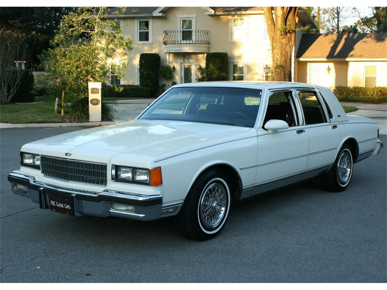 For Sale: 1986 Chevrolet Caprice in lakeland, Florida