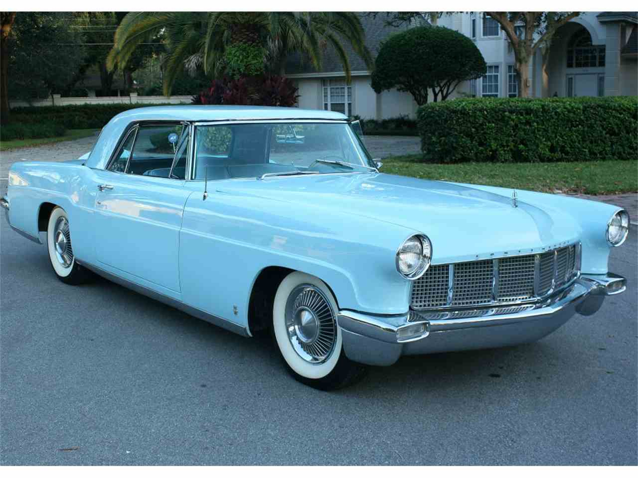 Large Picture of Classic 1956 Lincoln Continental Mark III located in Florida Offered by MJC Classic Cars - MDD6