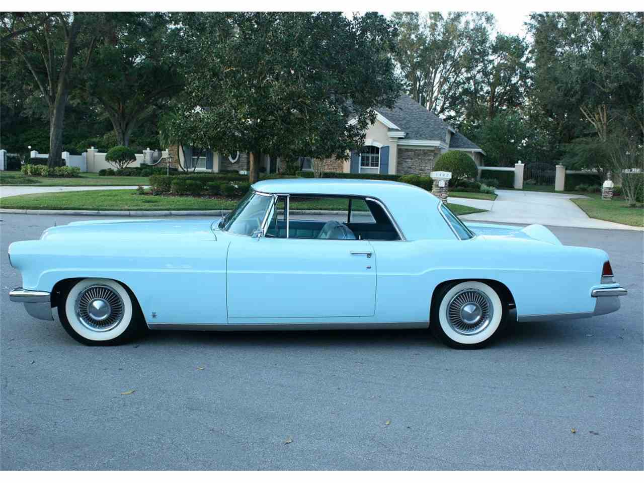 Large Picture of '56 Lincoln Continental Mark III located in lakeland Florida Offered by MJC Classic Cars - MDD6
