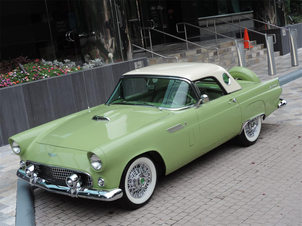 Large Picture of Classic 1956 Thunderbird Offered by Amos Minter's Thunderbirds - MDP7