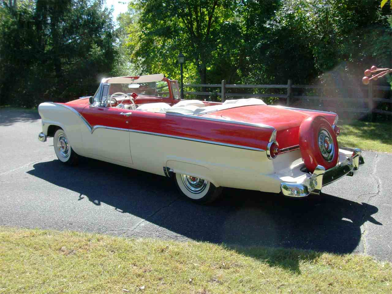 1955 ford fairlane sunliner for sale classiccars cc 1040421 large picture of 1955 fairlane sunliner located in minnesota offered by classic rides and rods altavistaventures Gallery