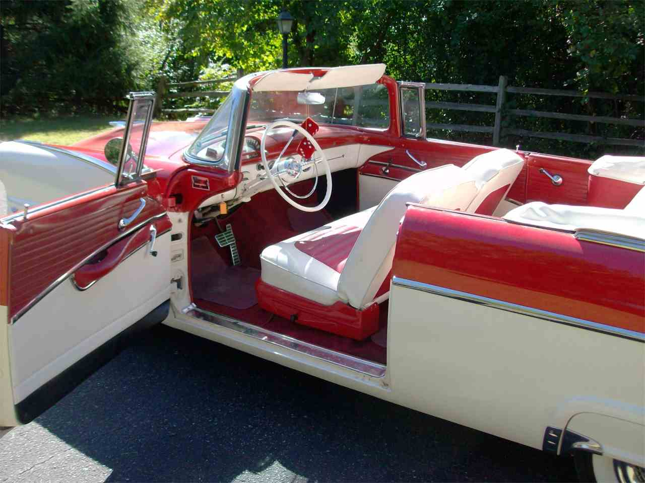 1955 ford fairlane sunliner for sale classiccars cc 1040421 large picture of 55 ford fairlane sunliner located in annandale minnesota auction vehicle offered by altavistaventures Gallery