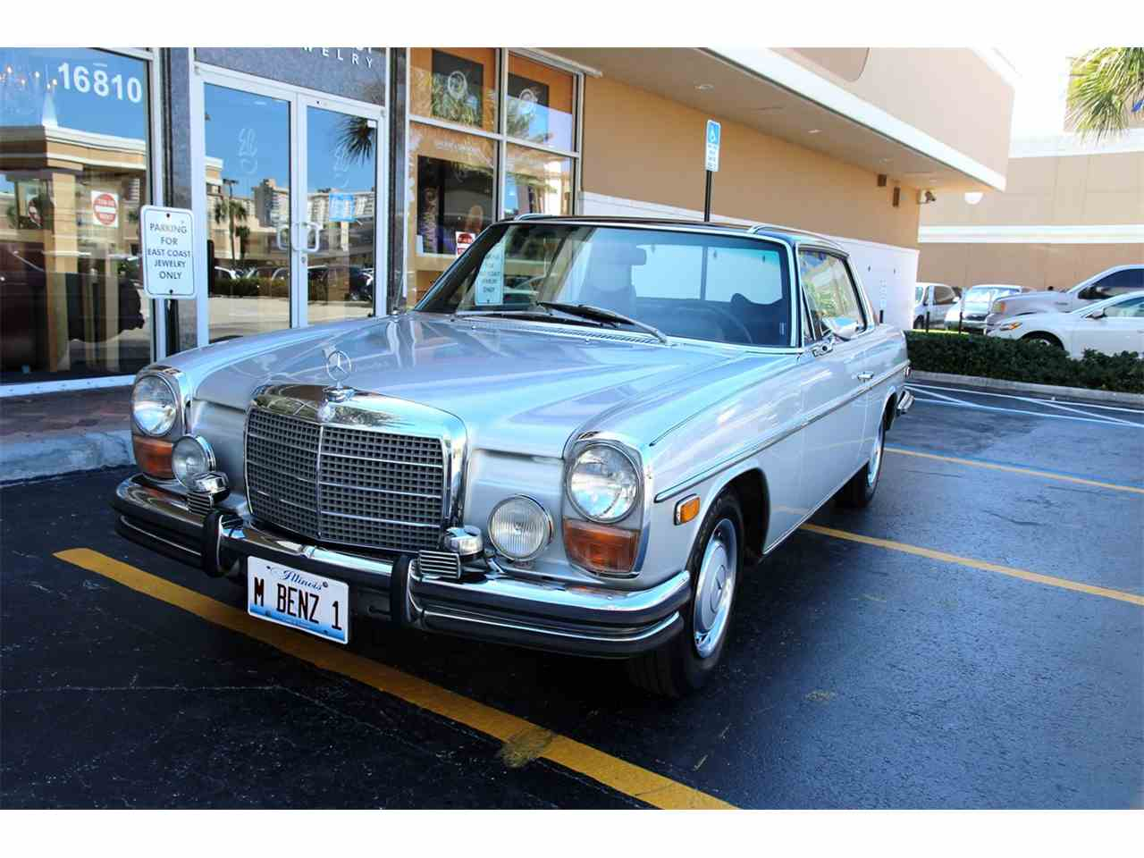 Cars For Sale Miami Beach: 1973 Mercedes-Benz 280C For Sale