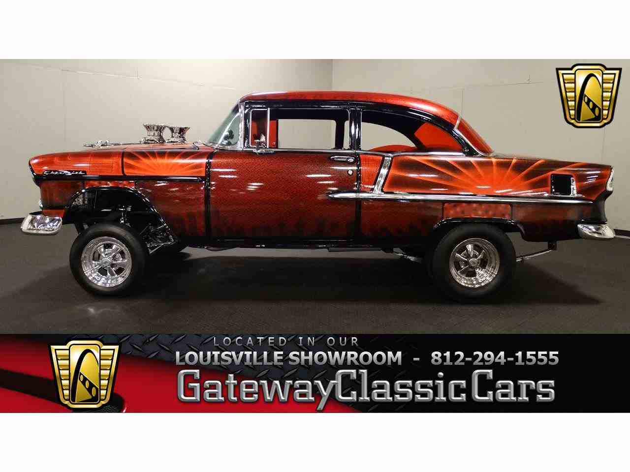 Large Picture of Classic 1955 Chevrolet Bel Air located in Indiana - $62,000.00 - MAT3