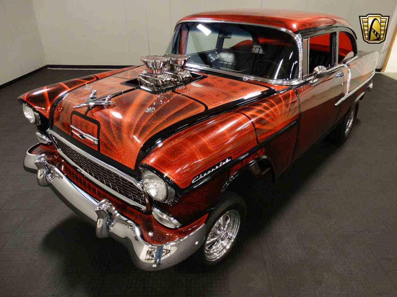 Large Picture of '55 Bel Air located in Memphis Indiana - $62,000.00 Offered by Gateway Classic Cars - Louisville - MAT3