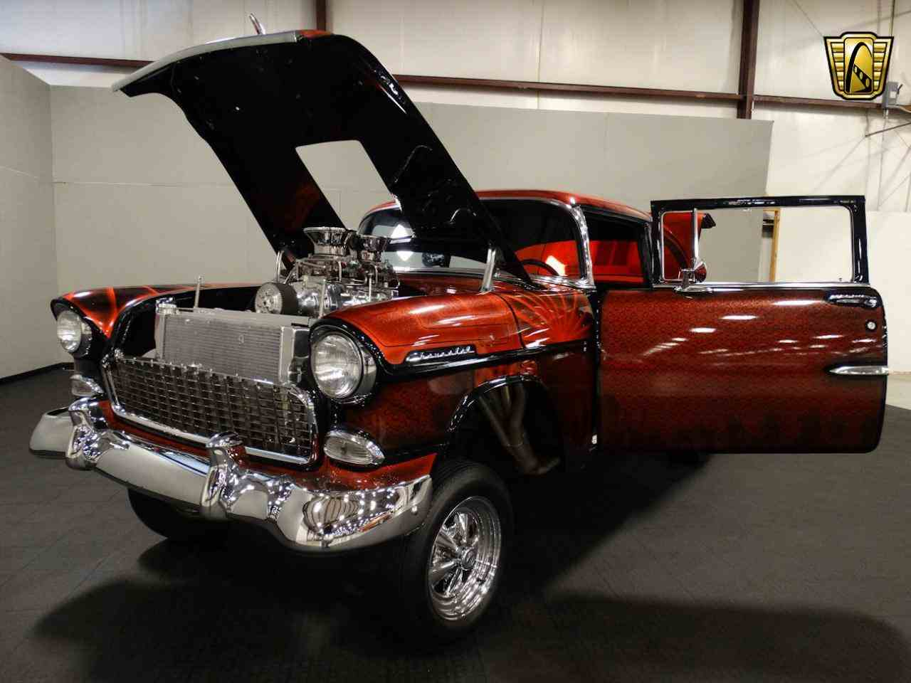 Large Picture of 1955 Bel Air located in Indiana - $62,000.00 Offered by Gateway Classic Cars - Louisville - MAT3