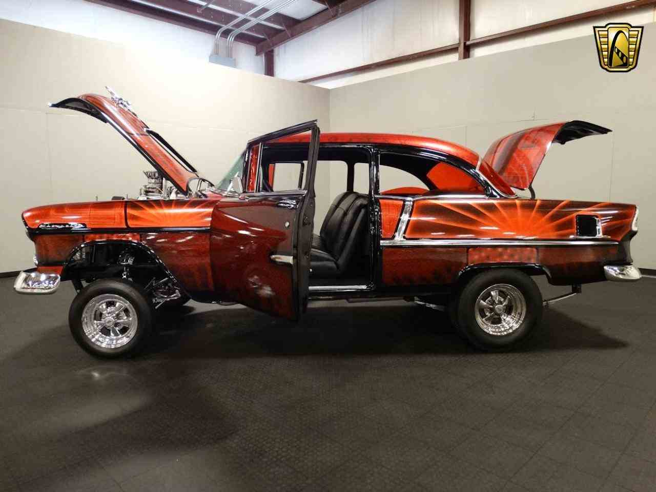 Large Picture of 1955 Chevrolet Bel Air located in Indiana - $62,000.00 Offered by Gateway Classic Cars - Louisville - MAT3