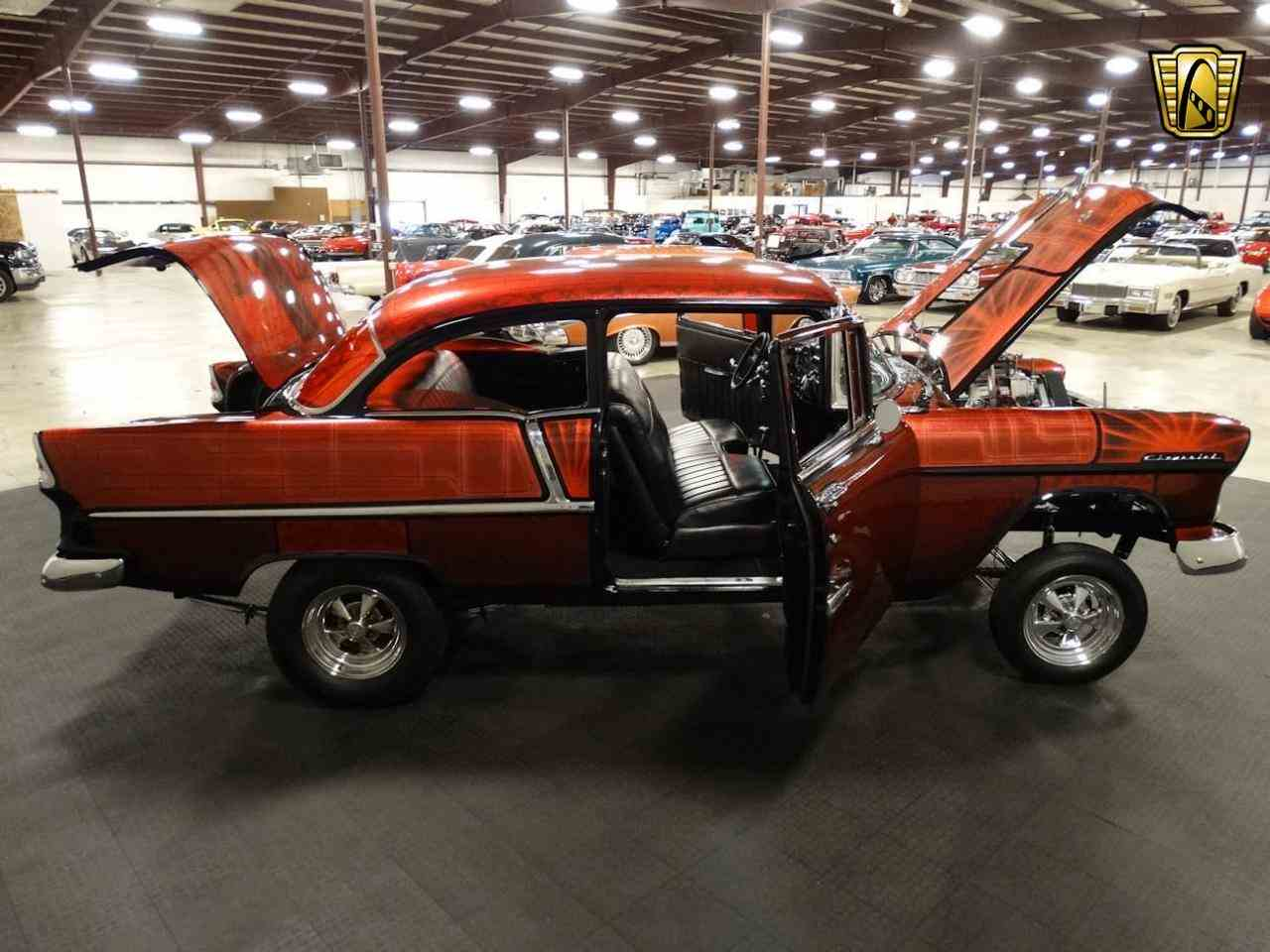 Large Picture of 1955 Chevrolet Bel Air located in Memphis Indiana - $62,000.00 Offered by Gateway Classic Cars - Louisville - MAT3