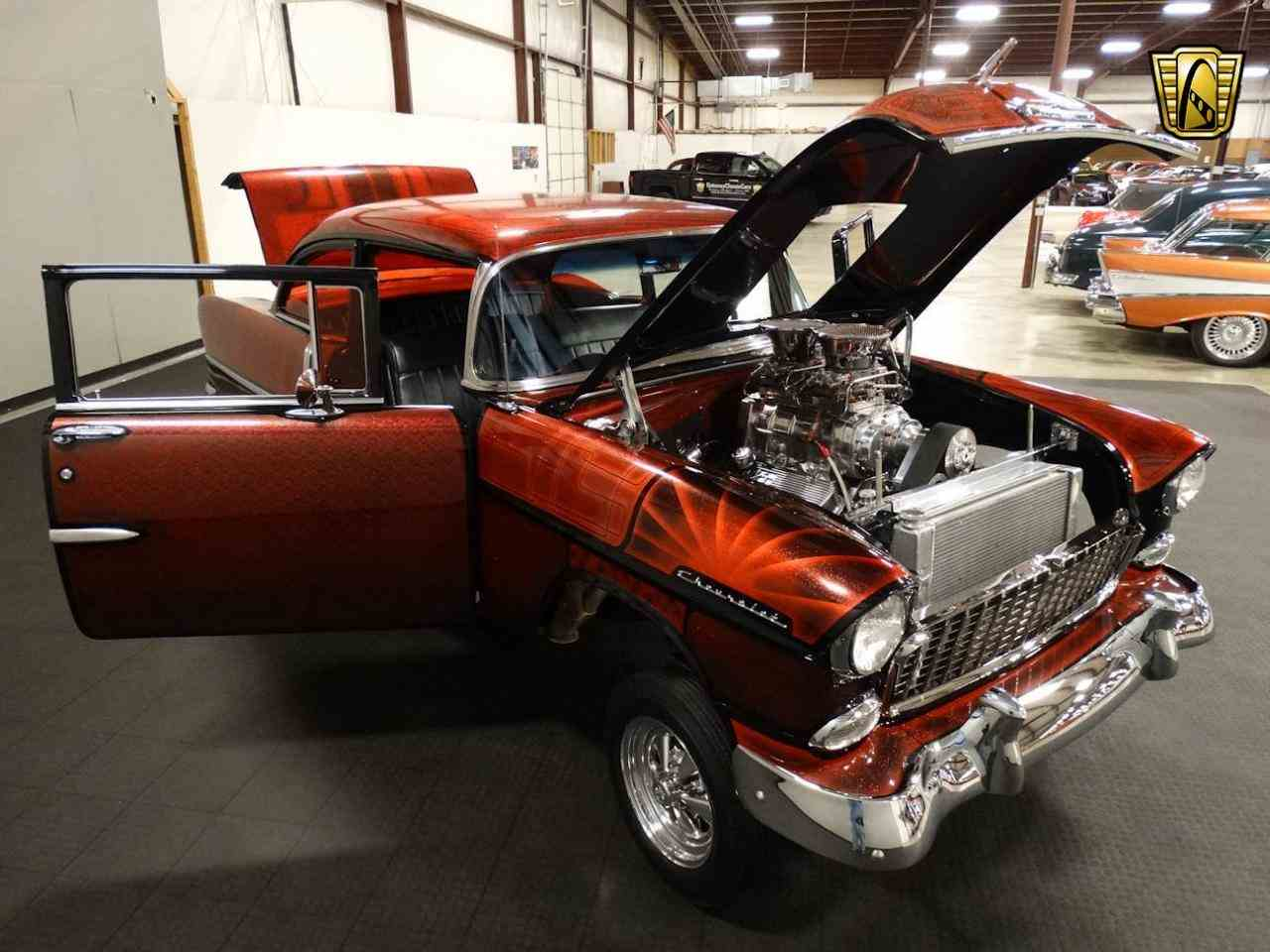 Large Picture of '55 Chevrolet Bel Air located in Indiana - $62,000.00 Offered by Gateway Classic Cars - Louisville - MAT3