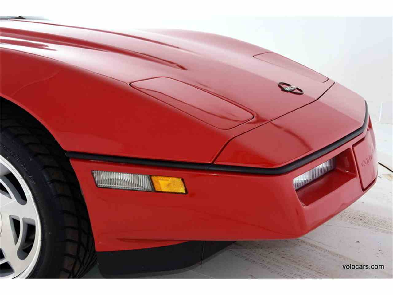 Large Picture of '89 Chevrolet Corvette located in Volo Illinois - $17,998.00 Offered by Volo Auto Museum - MDVF