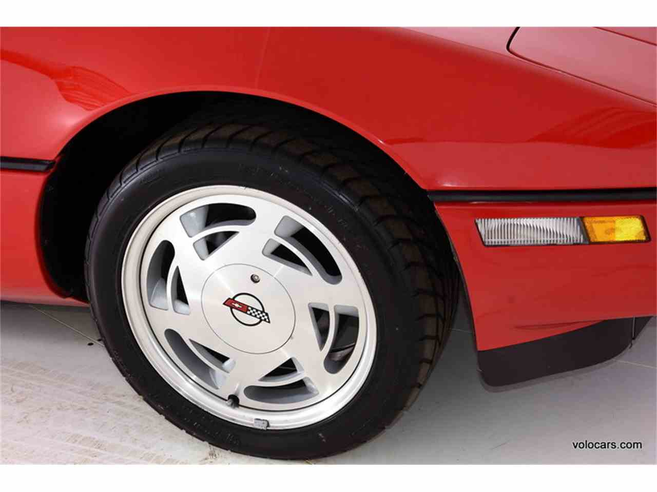 Large Picture of '89 Chevrolet Corvette located in Illinois Offered by Volo Auto Museum - MDVF