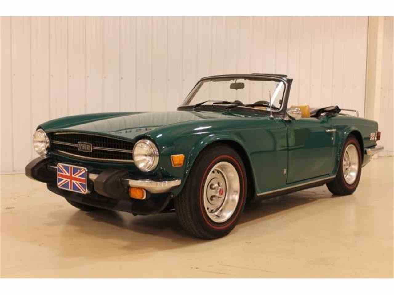 1976 triumph tr6 for sale cc 1044432. Black Bedroom Furniture Sets. Home Design Ideas