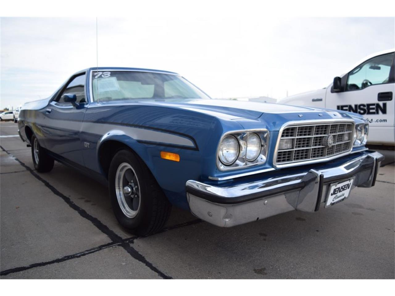 Large Picture of '73 Ford Ranchero Offered by Jensen Dealerships - MDYE